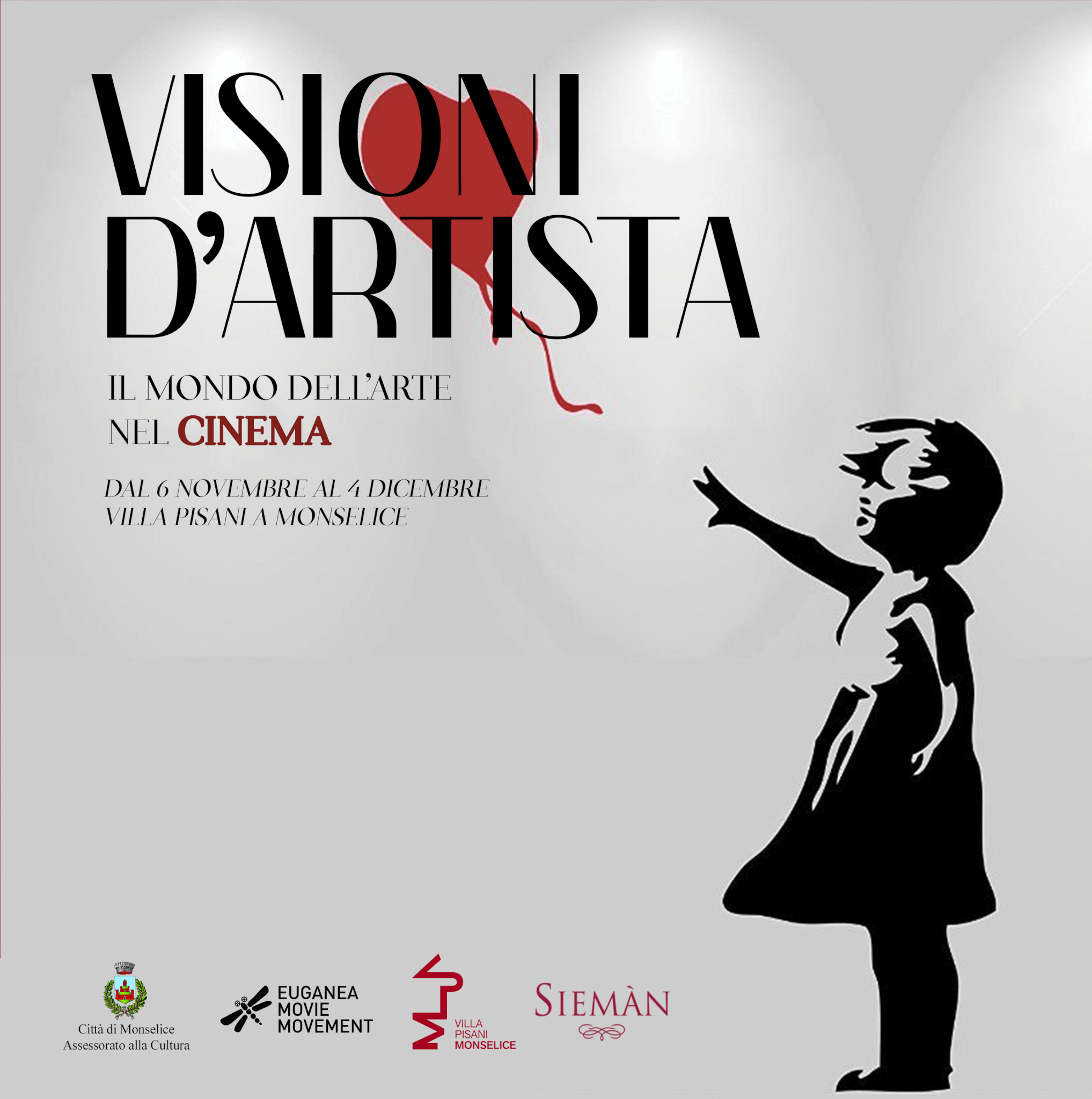 ARTISTS' VISIONS – Art's world in cinema