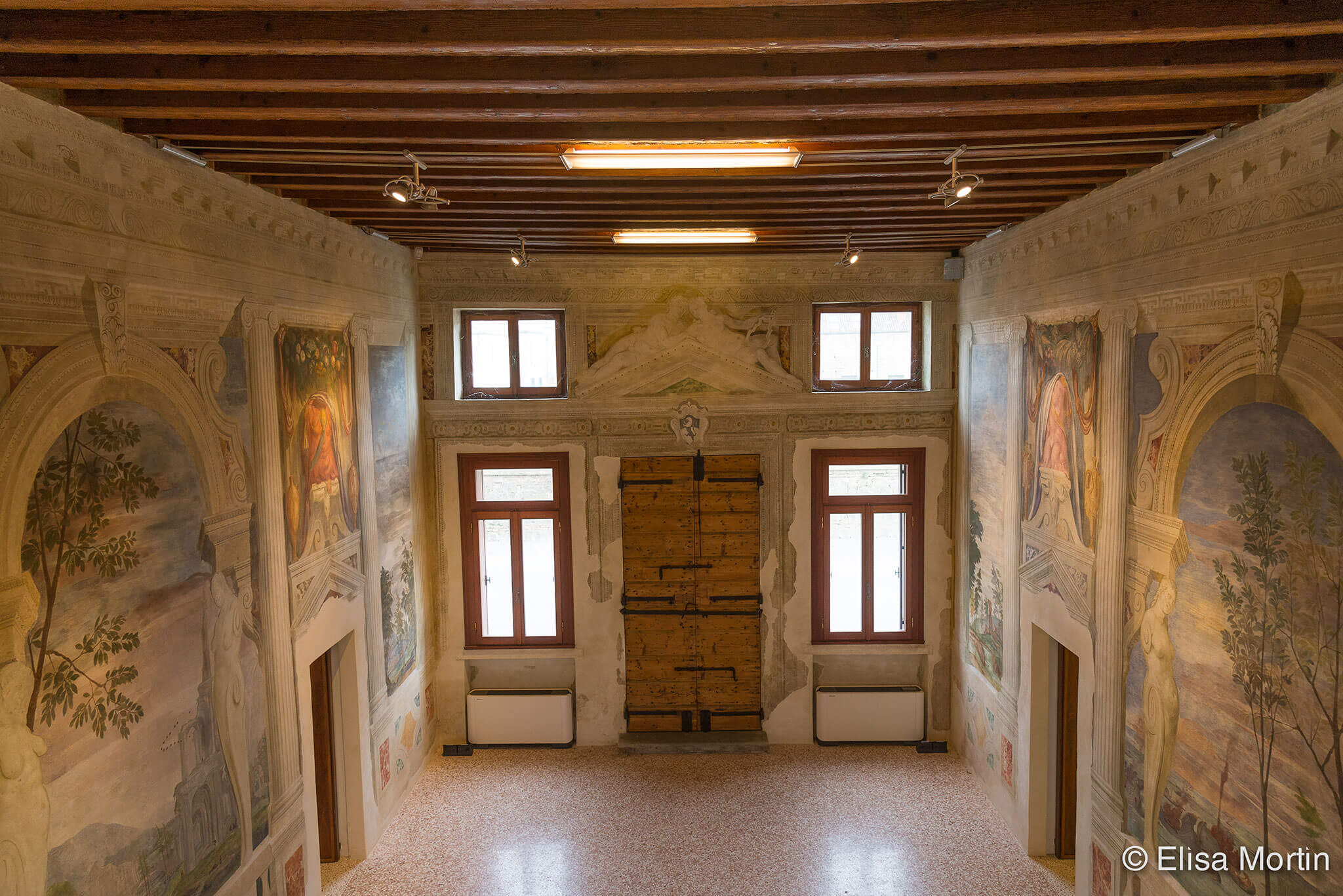 Interni Di Villa Pisani : La villa villa pisani monselice