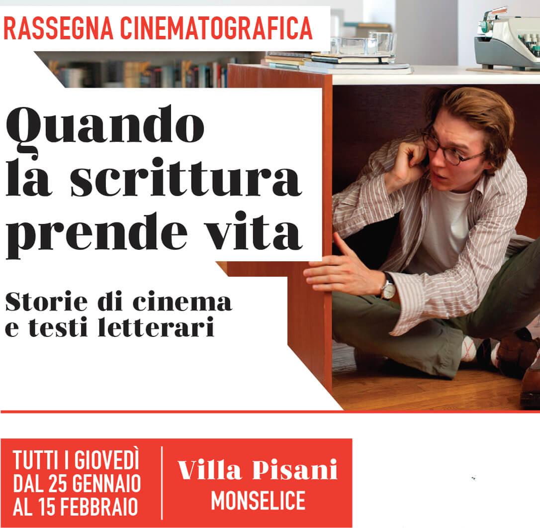 QUANDO LA SCRITTURA PRENDE VITA – STORIE DI CINEMA E TESTI LETTERARI